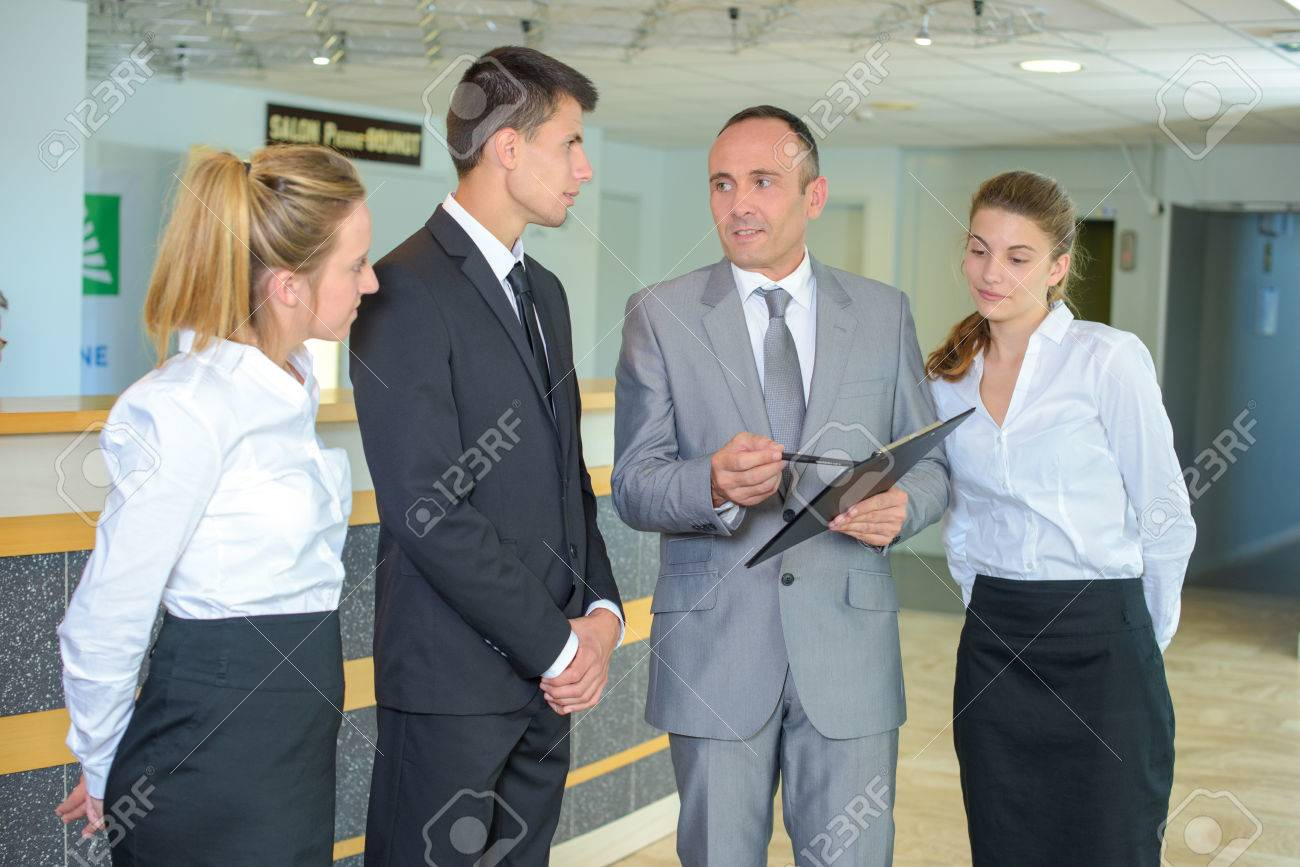 gestion de l'hôtel Banque d'images - 49309601
