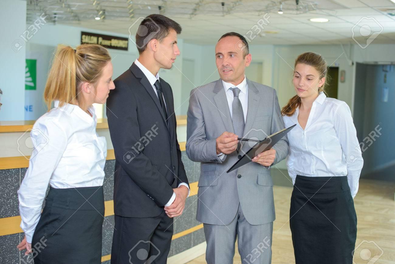 hotel management Stock Photo - 49309601