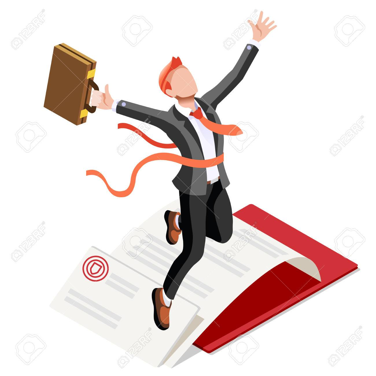 Business concept infographic vector design. Businessperson 3D character flat ambitious man. Job ambition changing role. Winning Startup group training