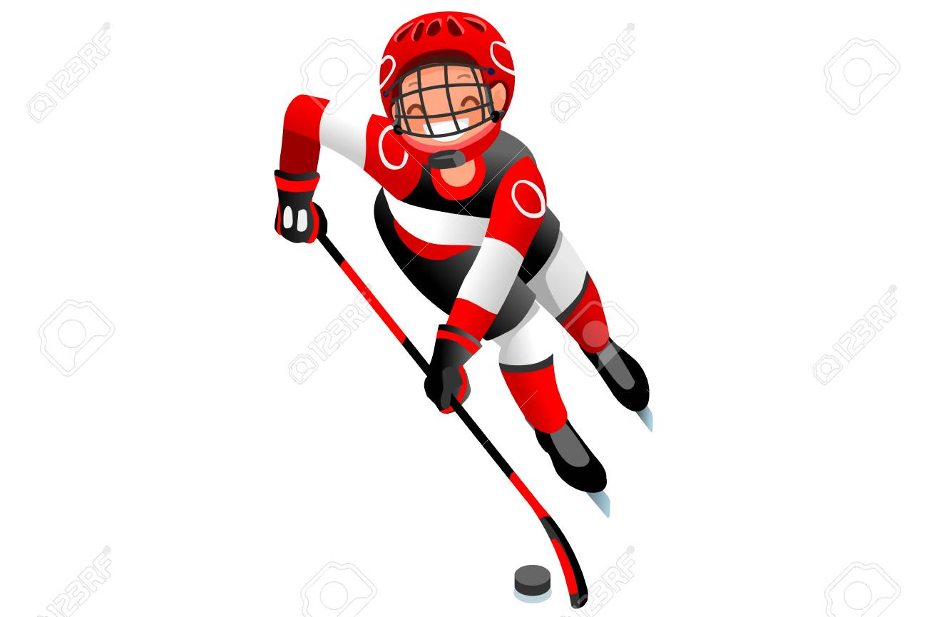 ice hockey vector cartoon clipart winter sports background with rh 123rf com Winter Olympics Symbol winter olympics clip art free
