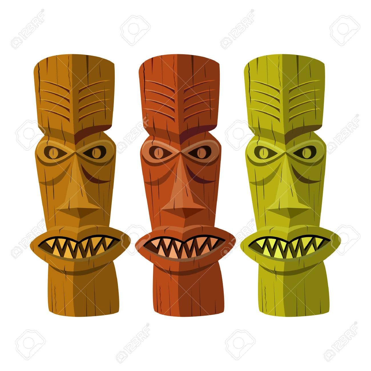 189 Tiki God Cliparts, Stock Vector And Royalty Free Tiki God ...