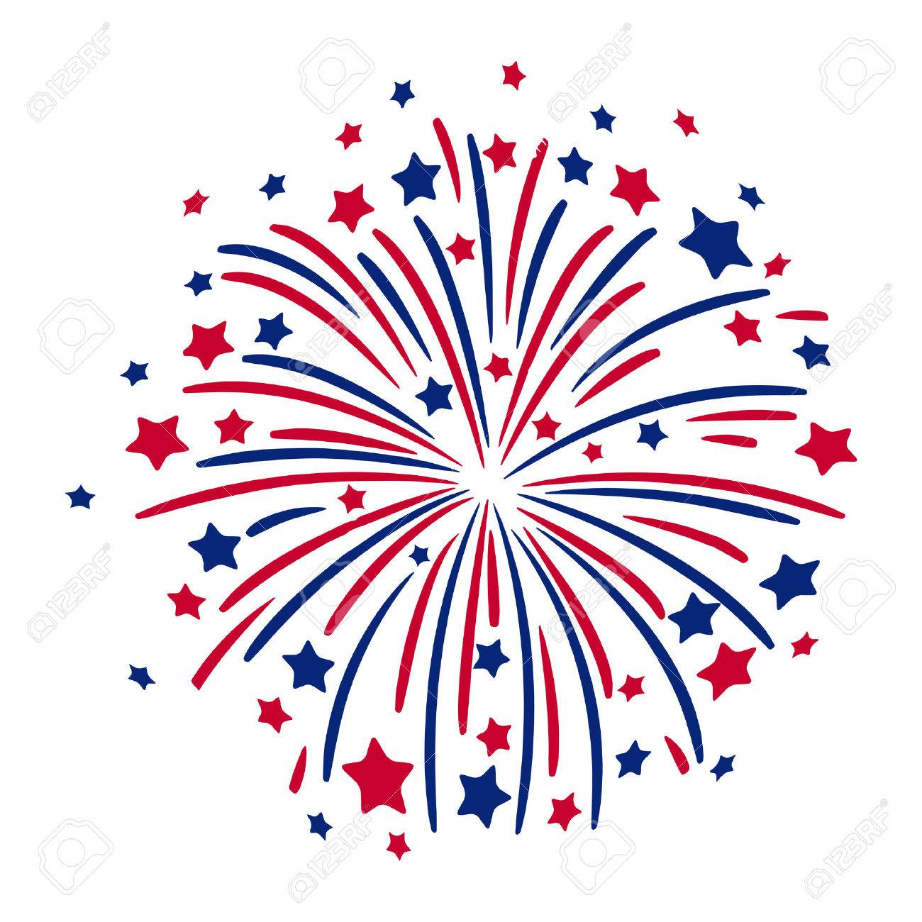 Firework Royalty Free Cliparts, Vectors, And Stock Illustration ...