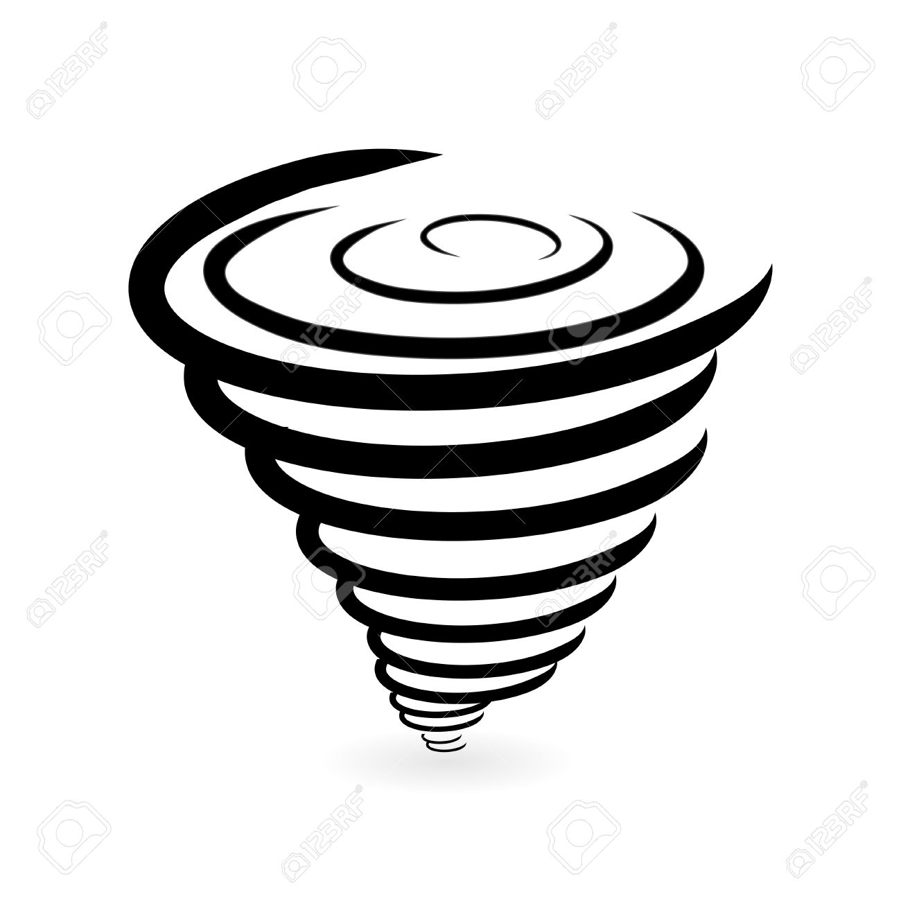 Hurricane icon stock photos royalty free business images tornado icon illustration biocorpaavc Images