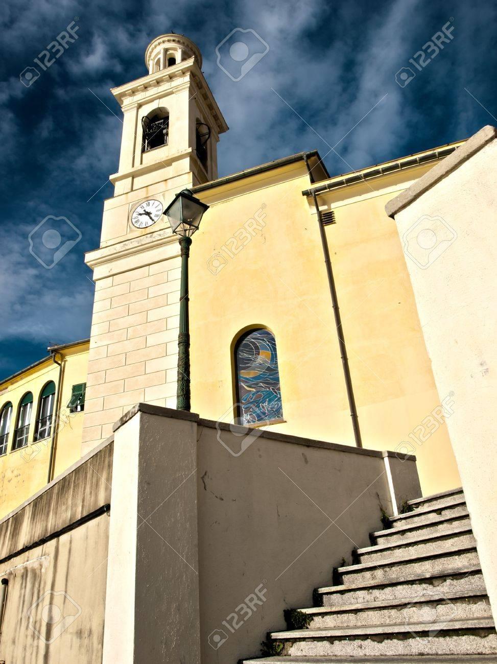 the church of S  Anthony of Padua Boccadasse in Genoa Stock Photo - 12505504
