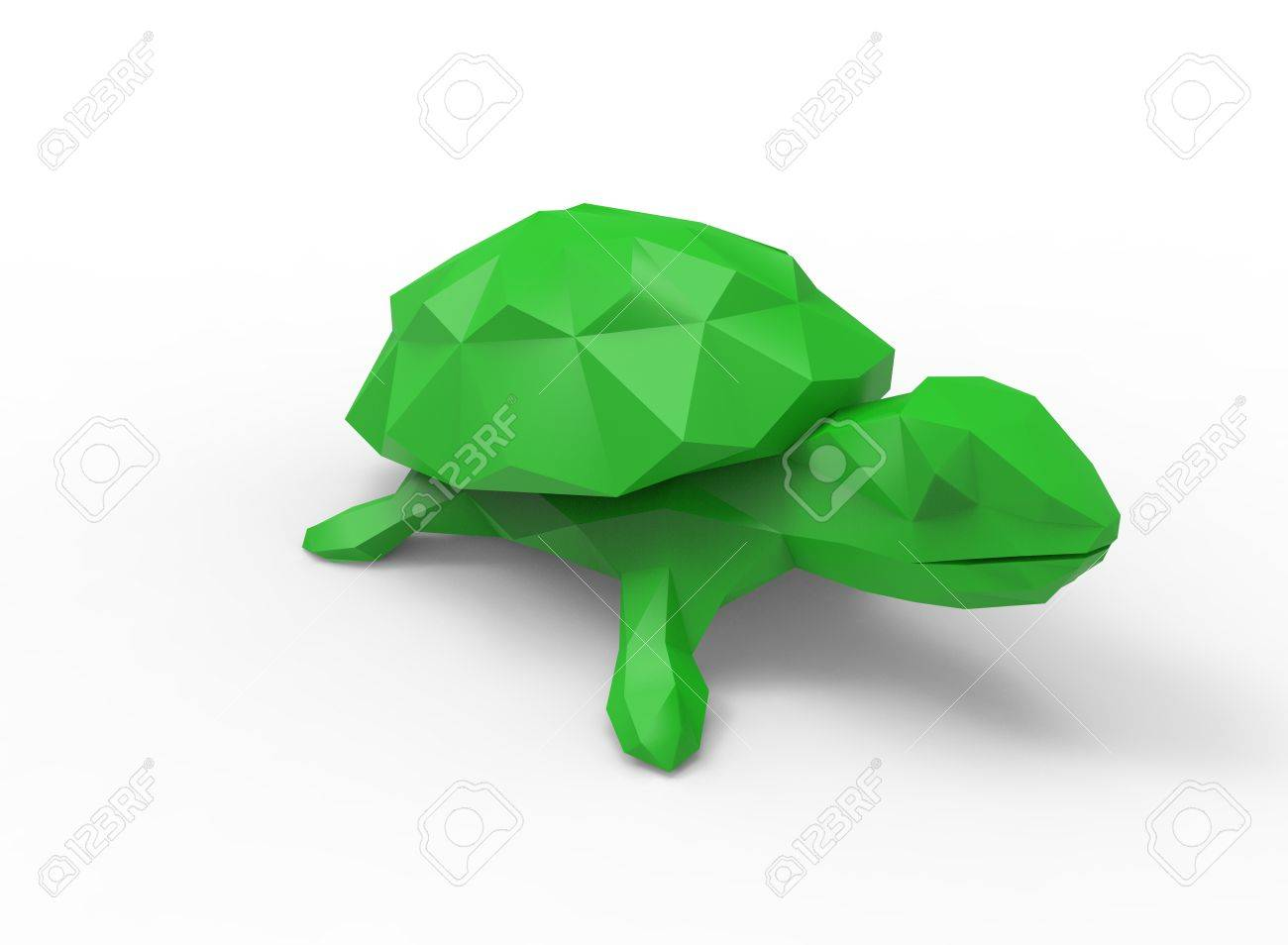 Turtle character cartoon low poly 3d illustration of animal turtle character cartoon low poly 3d illustration of animal green triangles and polygons on jeuxipadfo Image collections