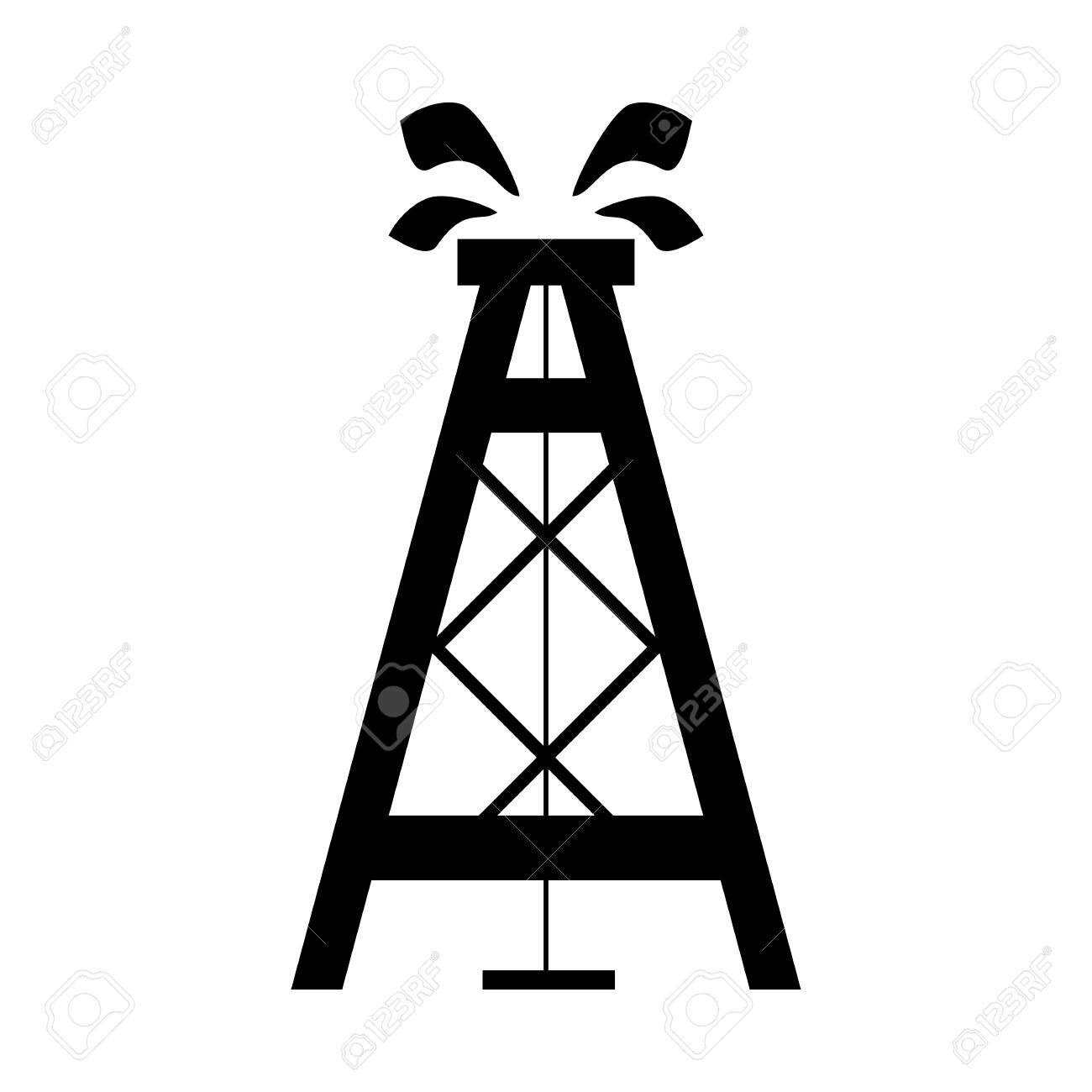 oil rig vector icon royalty free cliparts vectors and stock rh 123rf com offshore rig clipart oil rig clipart free