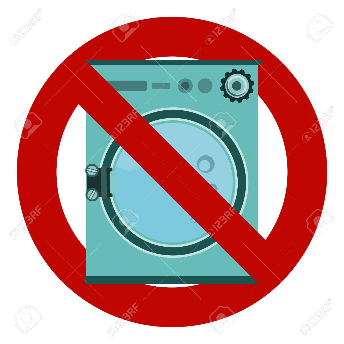 Do not wash washing machine a prohibitory sign stop no do not wash washing machine a prohibitory sign stop no stock biocorpaavc