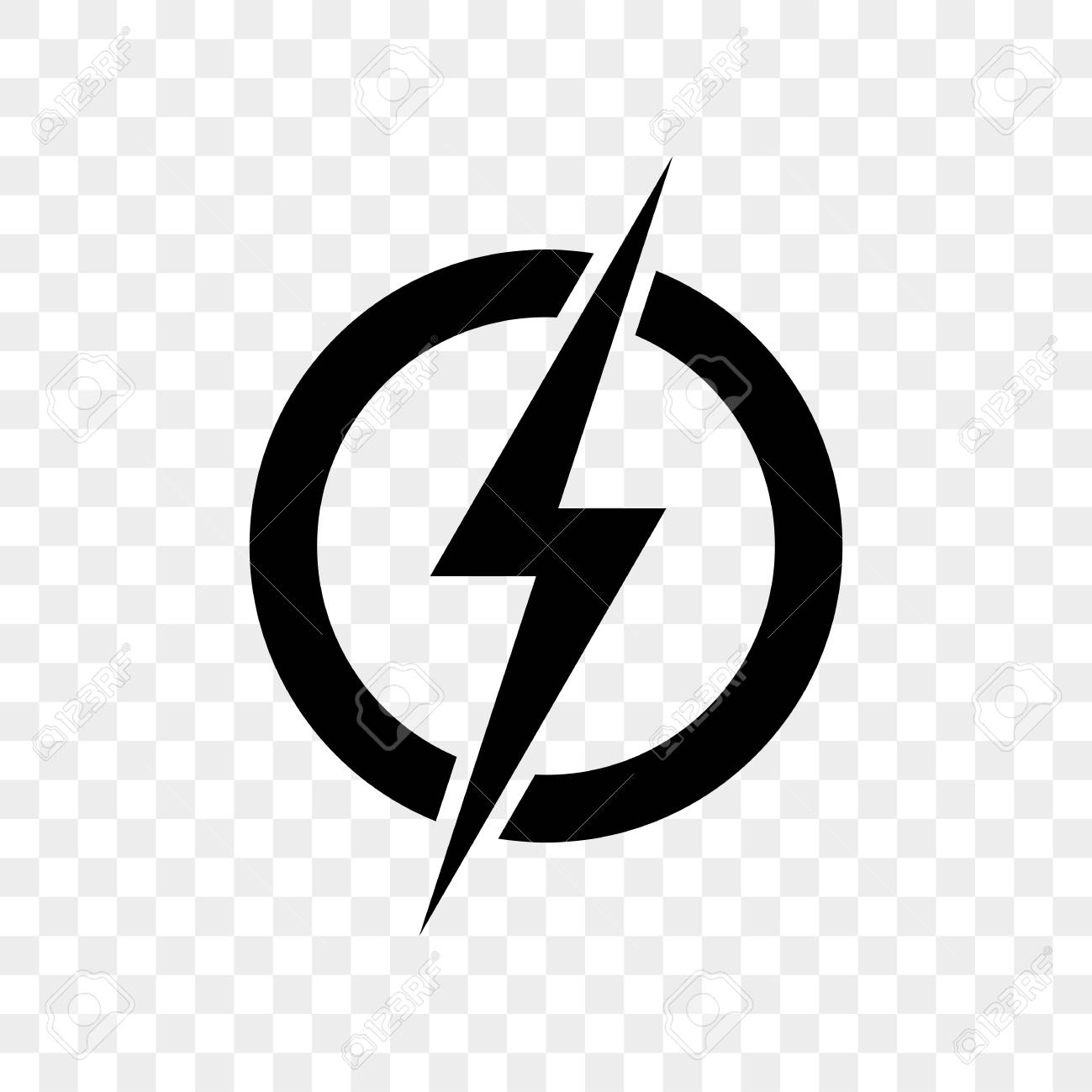 power lightning logo icon vector black thunder bolt symbol isolated royalty free cliparts vectors and stock illustration image 99974761 power lightning logo icon vector black thunder bolt symbol isolated