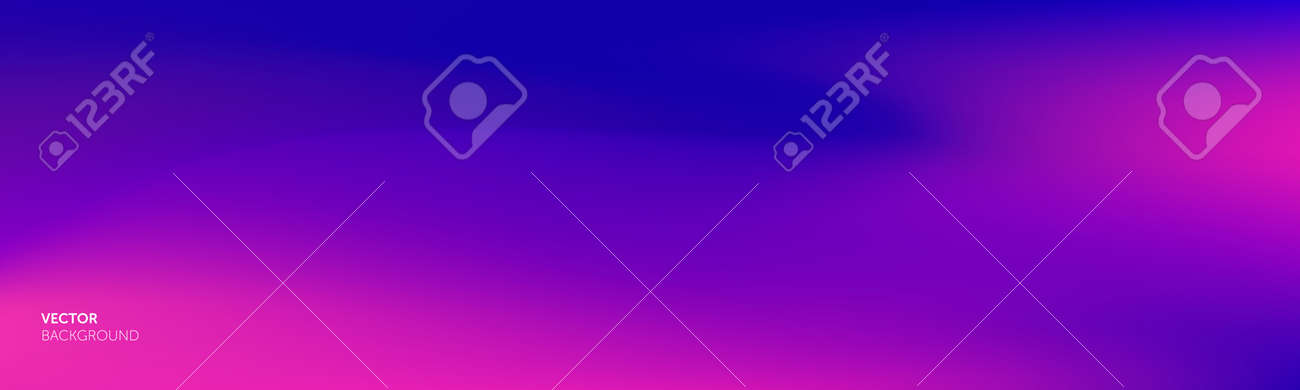 Gradient background purple color abstract blend, vector gradation mesh of pink red and blue blur - 163822755