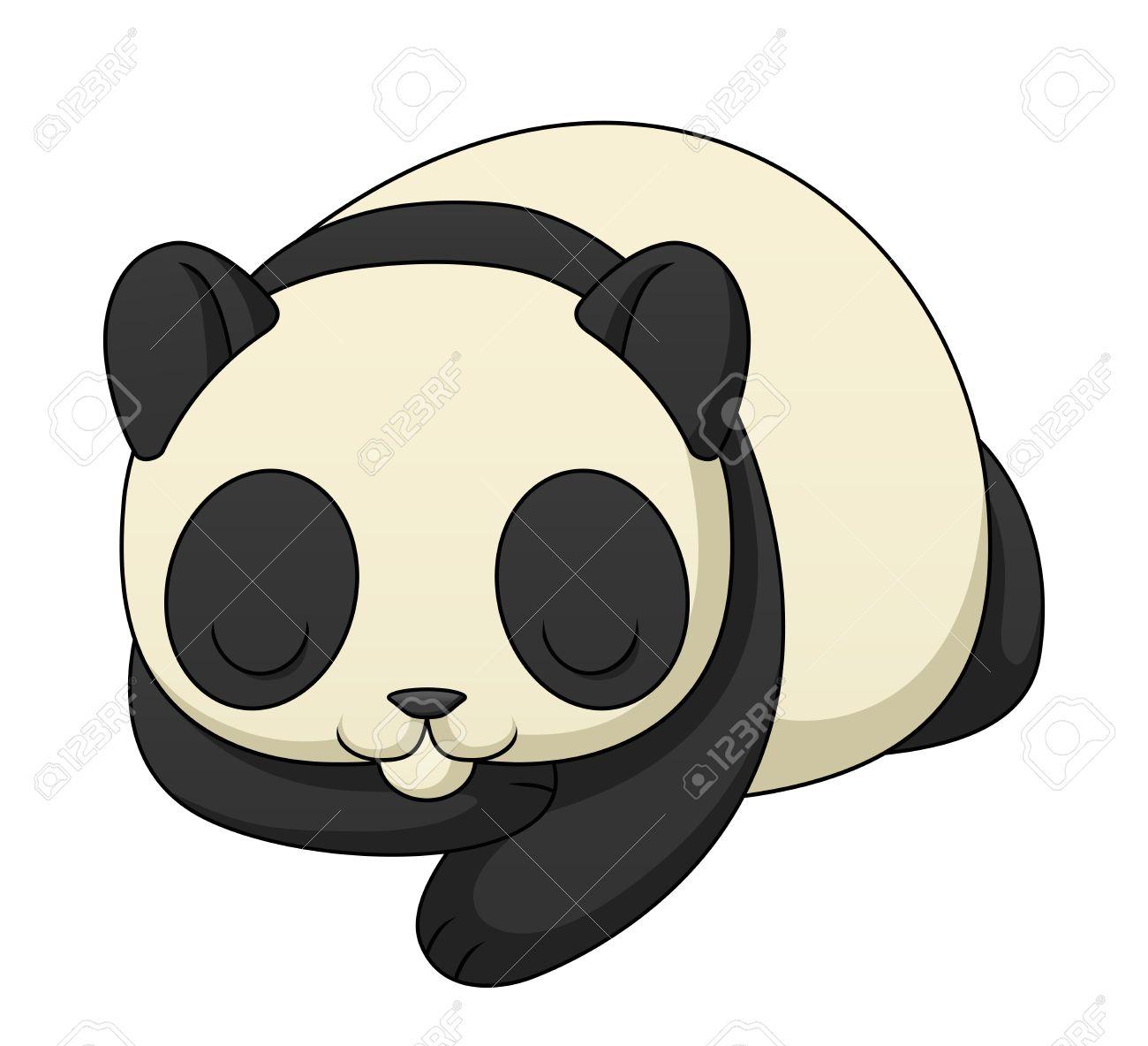 Famoso Lindo Panda Para Colorear Imágenes - Dibujos Para Colorear En ...