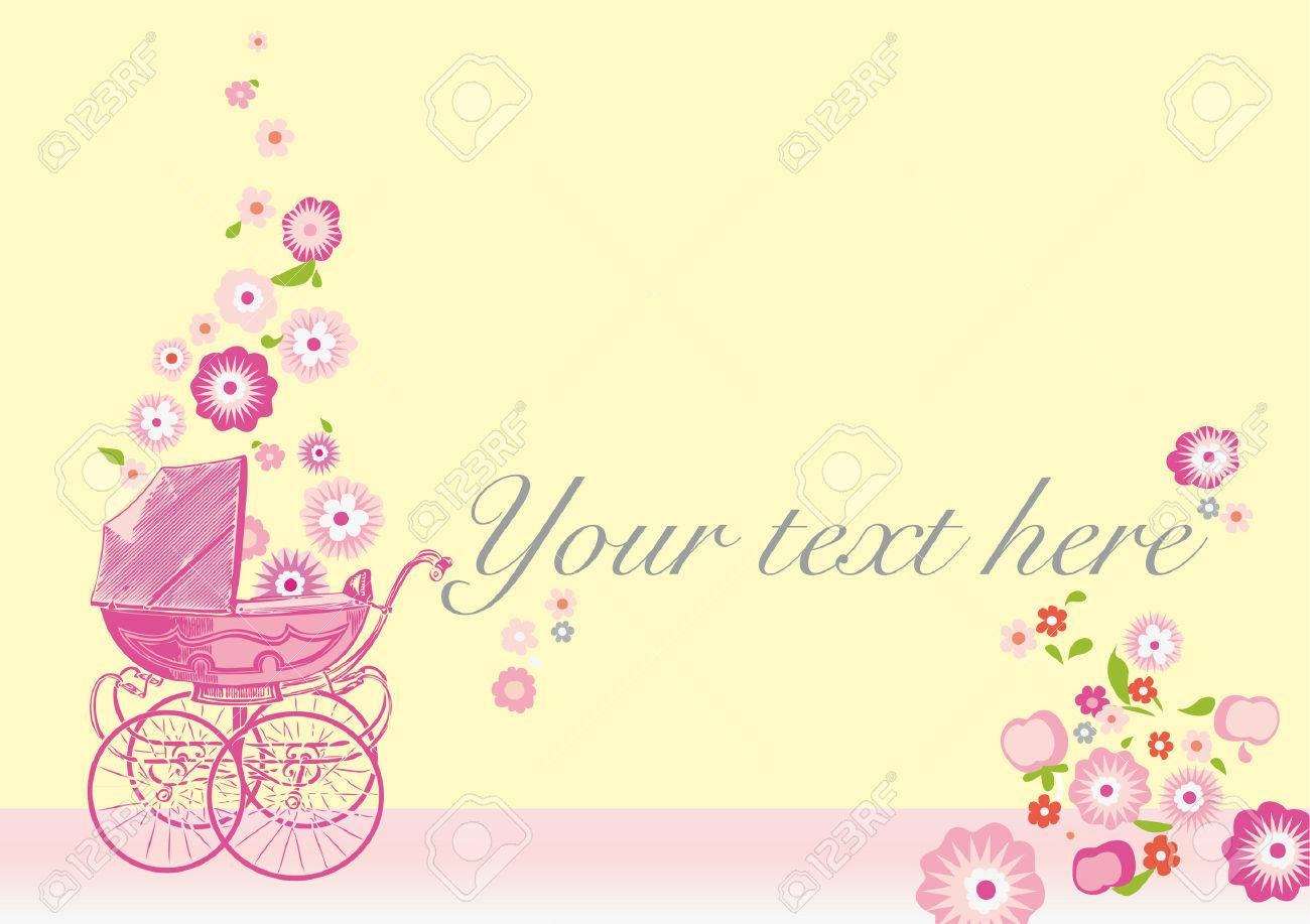 Vintage Birth Announcement Royalty Free Cliparts Vectors And – Vintage Birth Announcement