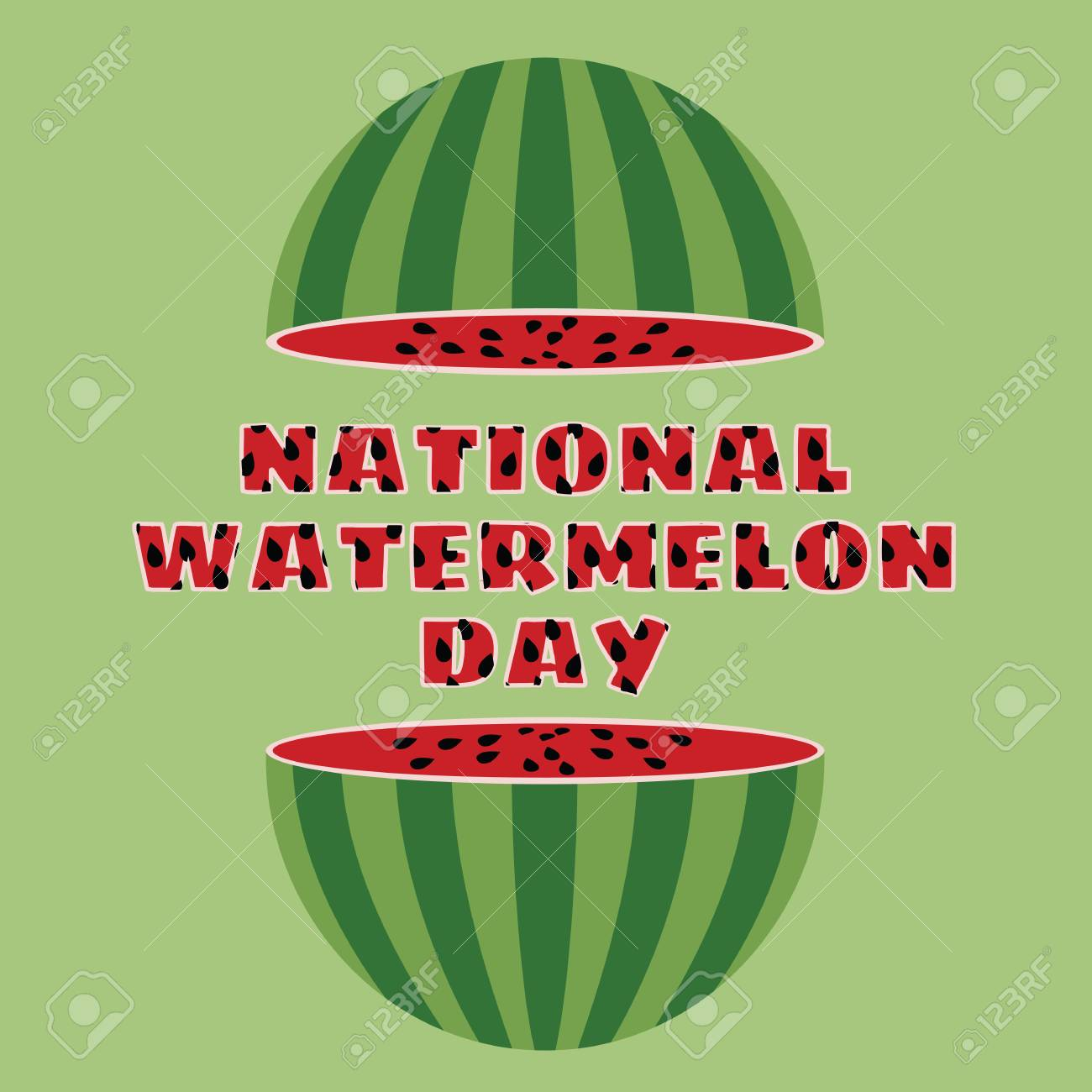 National Watermelon Day Pictures