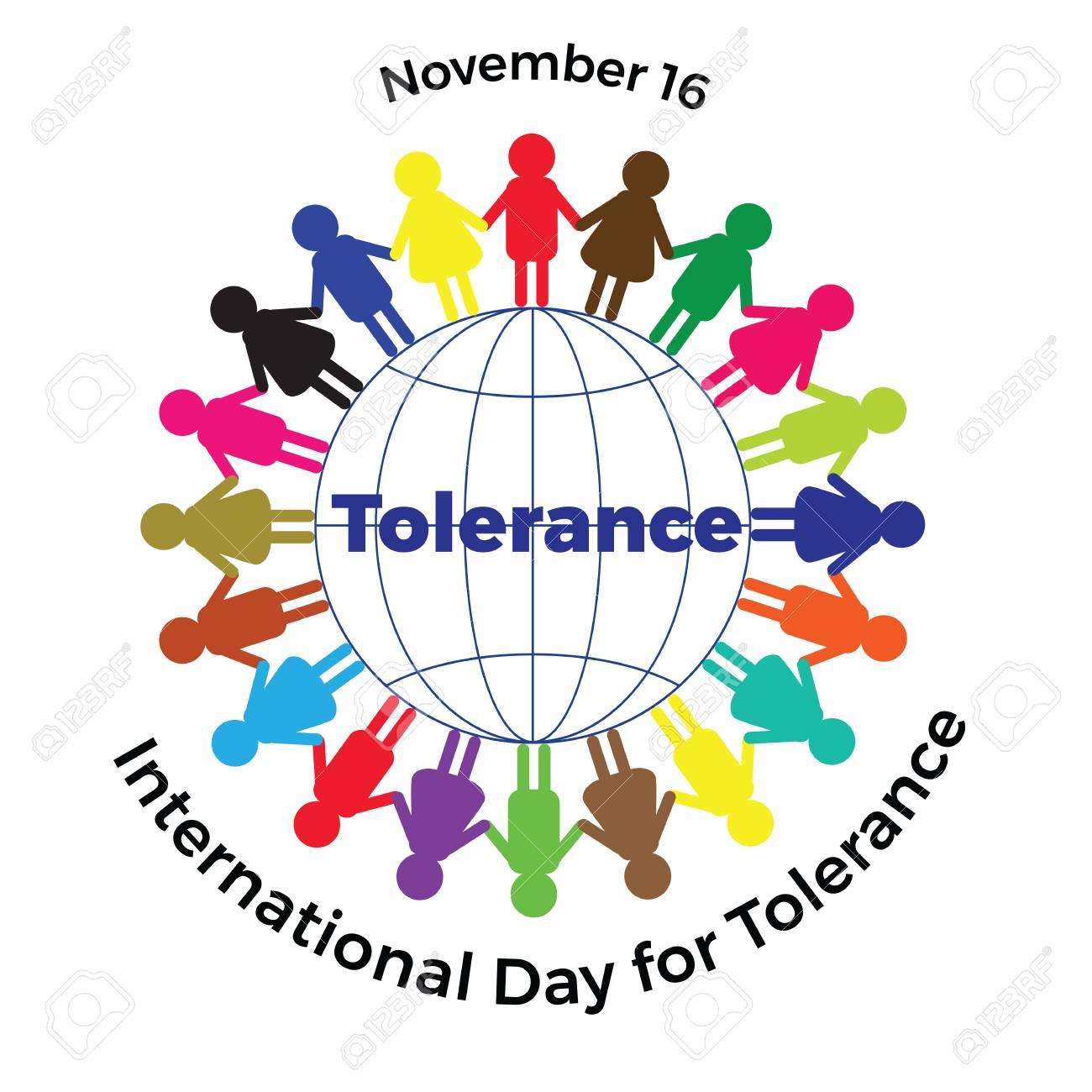 International day of tolerance illustration with colored men international day of tolerance illustration with colored men on the globe stock vector 89520533 biocorpaavc Image collections