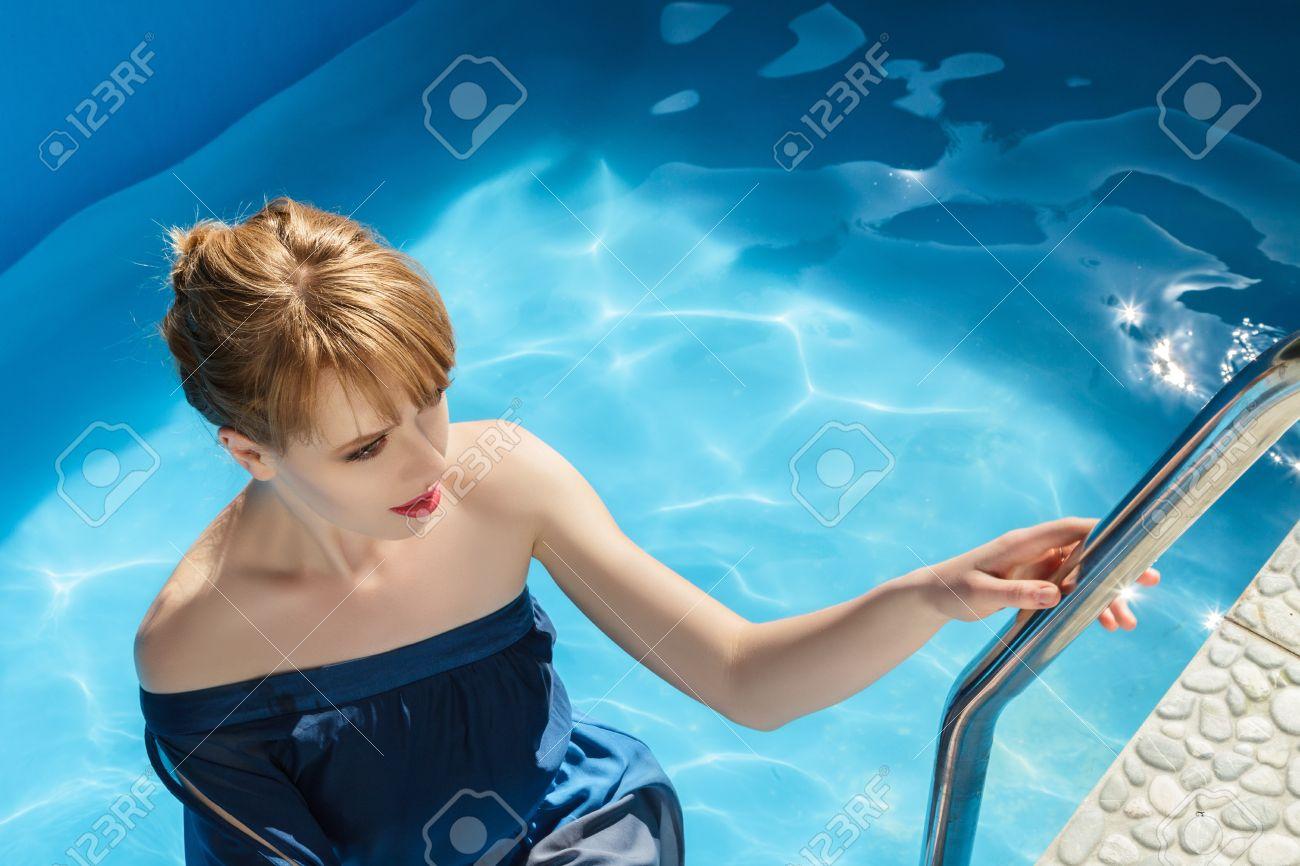 Pool Blue Dress