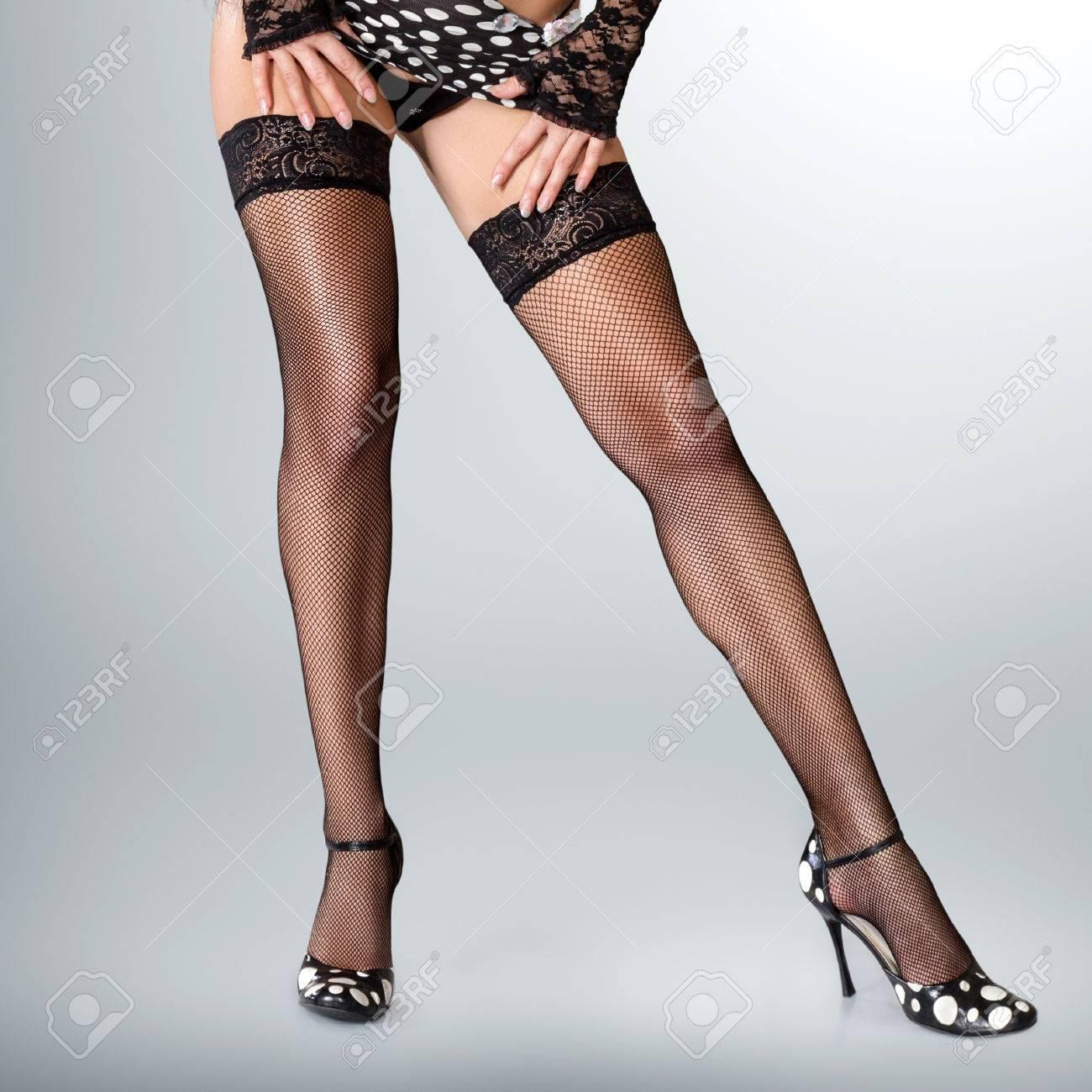 sexy muskulösen füße der frau