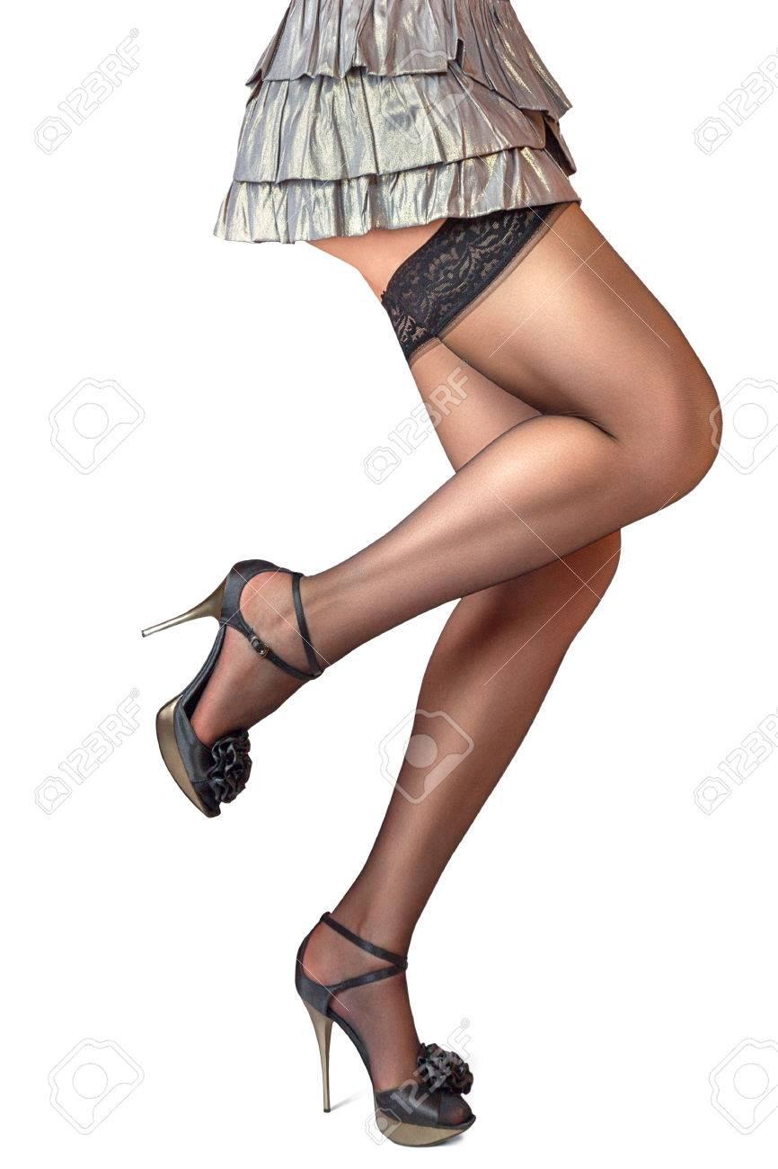 Asian High Heels Lingerie