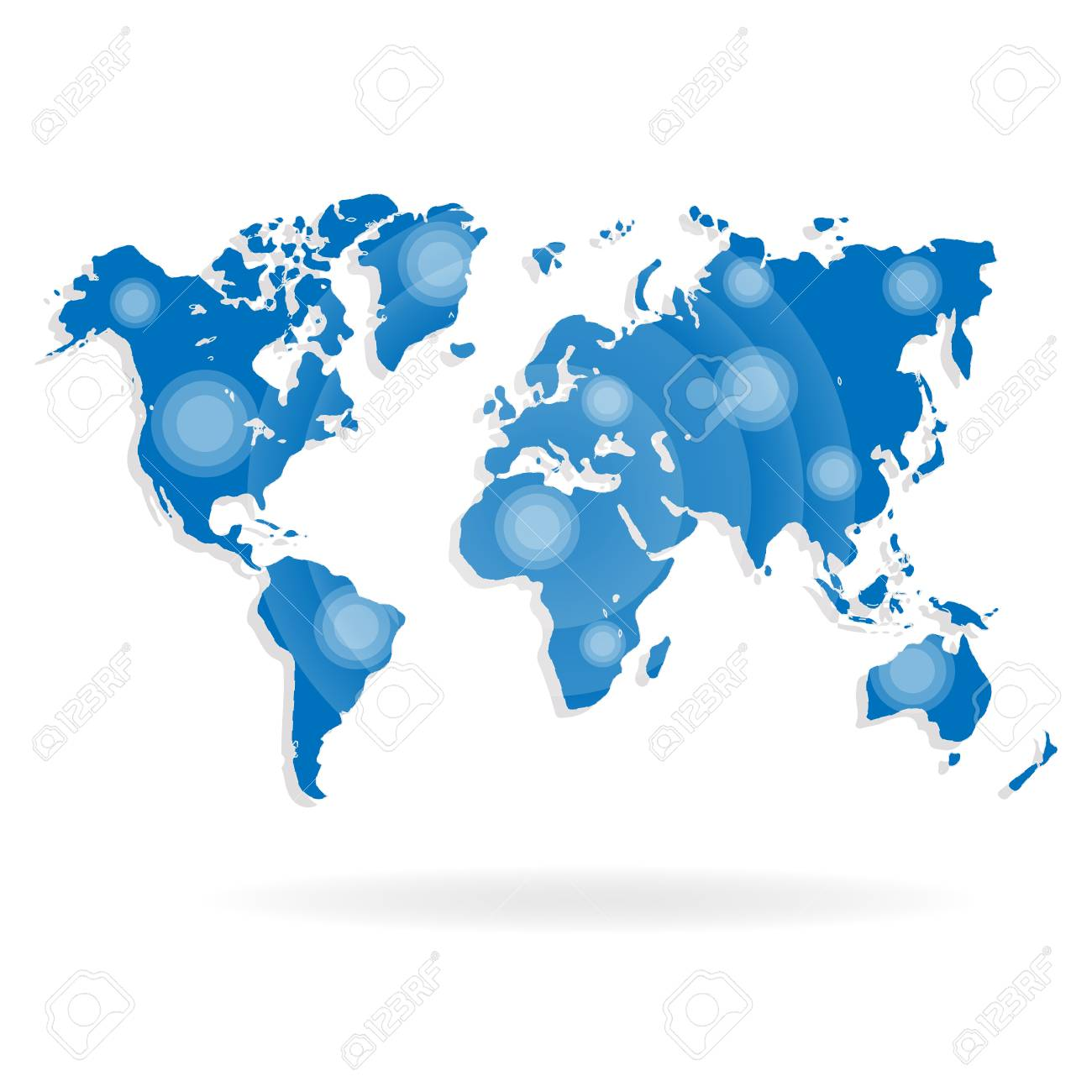 World map for website on a white background royalty free cliparts vector world map for website on a white background gumiabroncs Gallery
