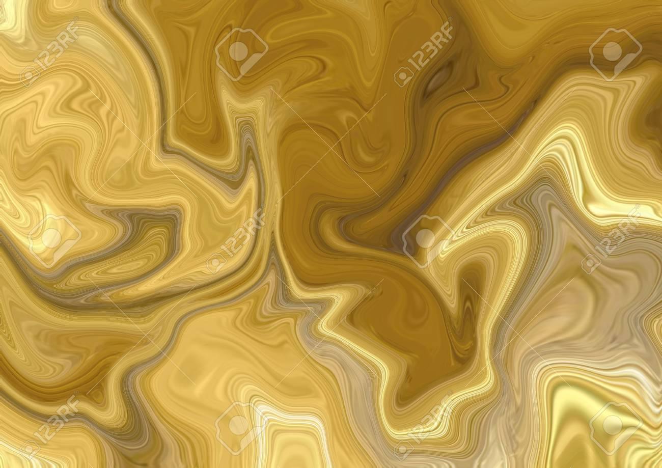 Fond De Texture Dorée Abstraite Fond D écran Art Aureate Oeuvre Artistique En Marbre Or Psychédélique Peinture Numérique Colorée Stock Art