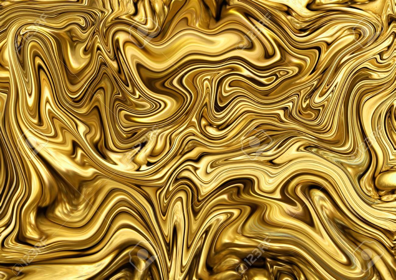 Abstract Golden Texture Background Art Aureate Wallpaper