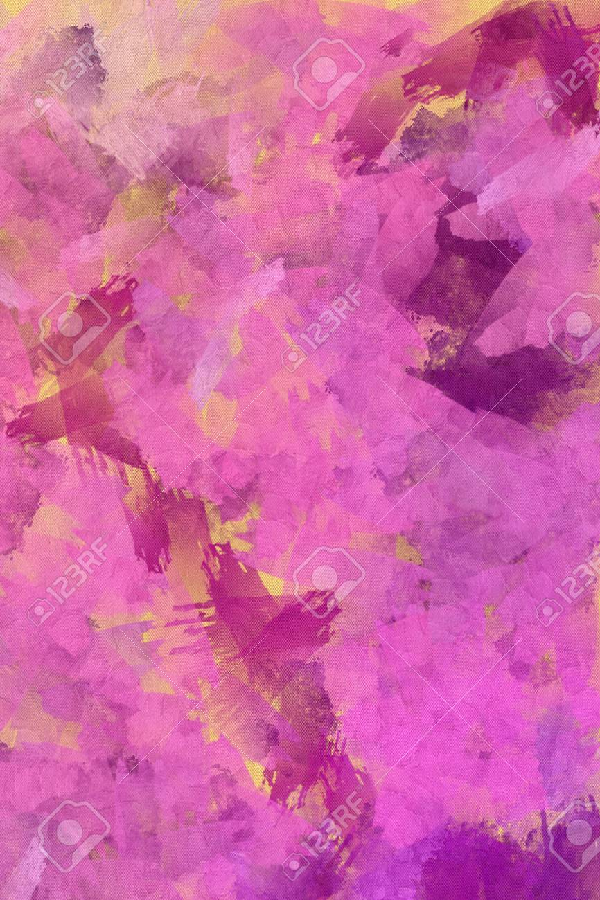 Abstract Art Soft And Warm