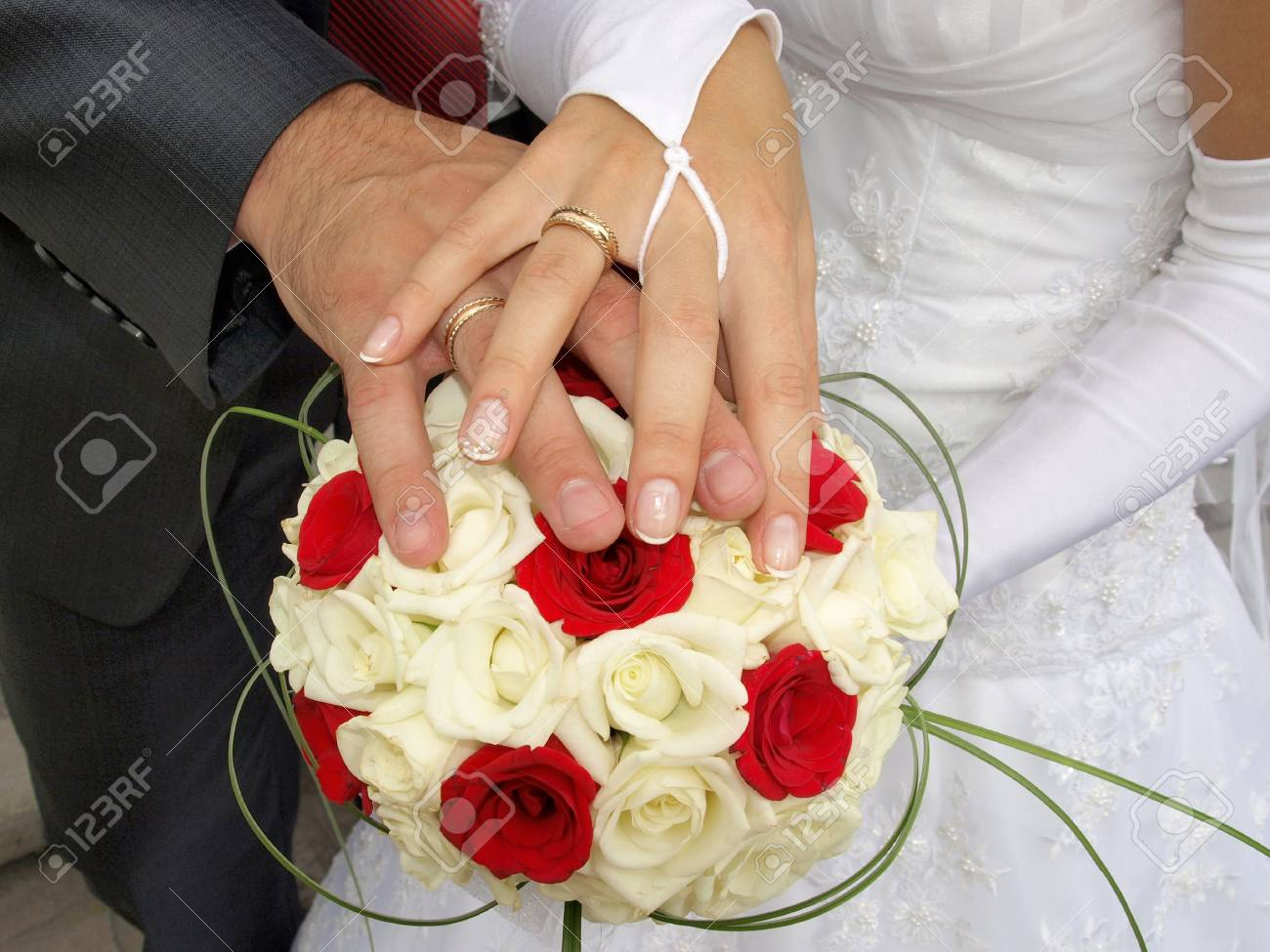 Newly married Stock Photo - 7001759
