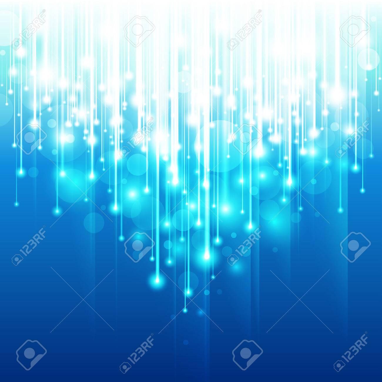 Abstract Optical Fibers - 8698773