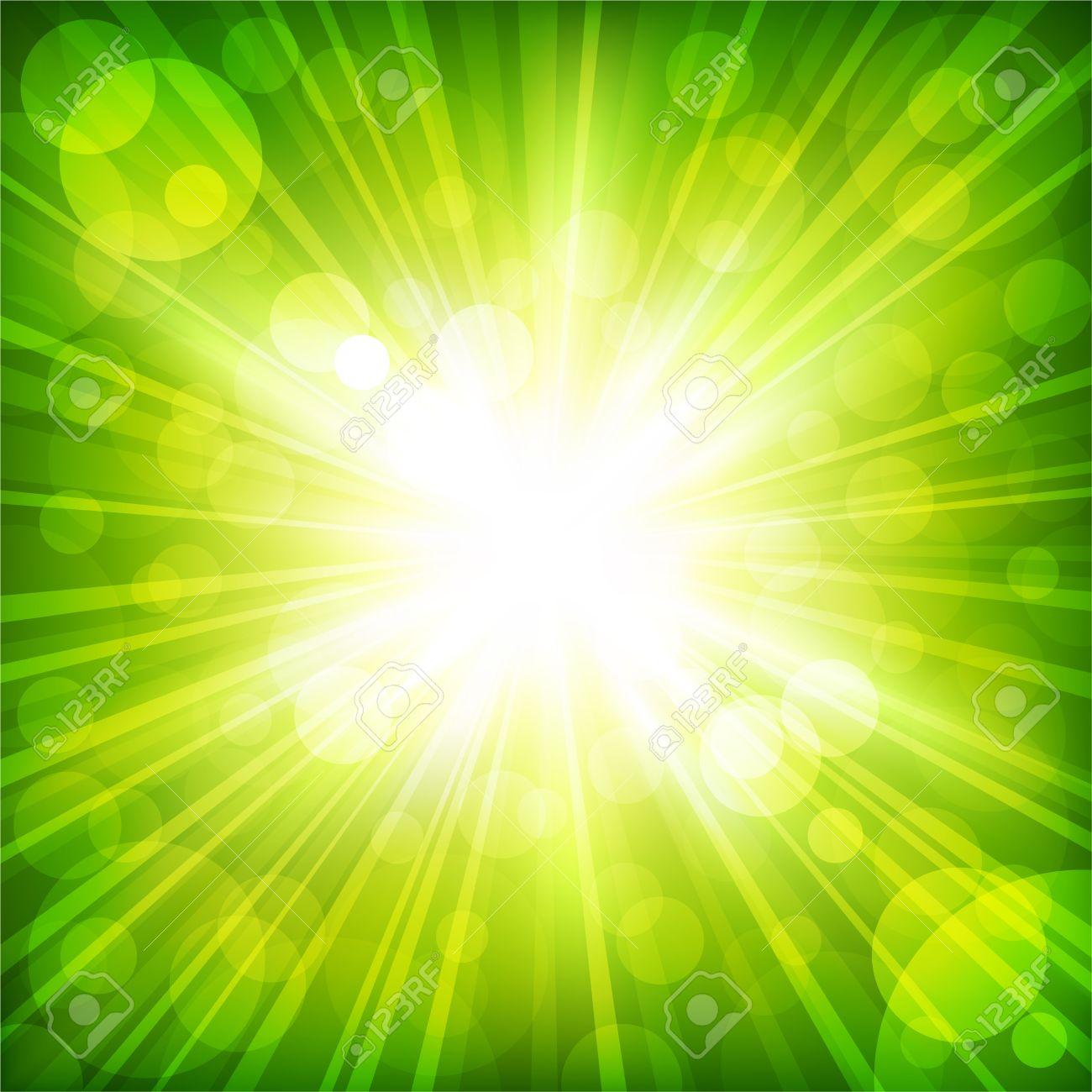 Sunlight. Vector illustration Stock Vector - 8783932