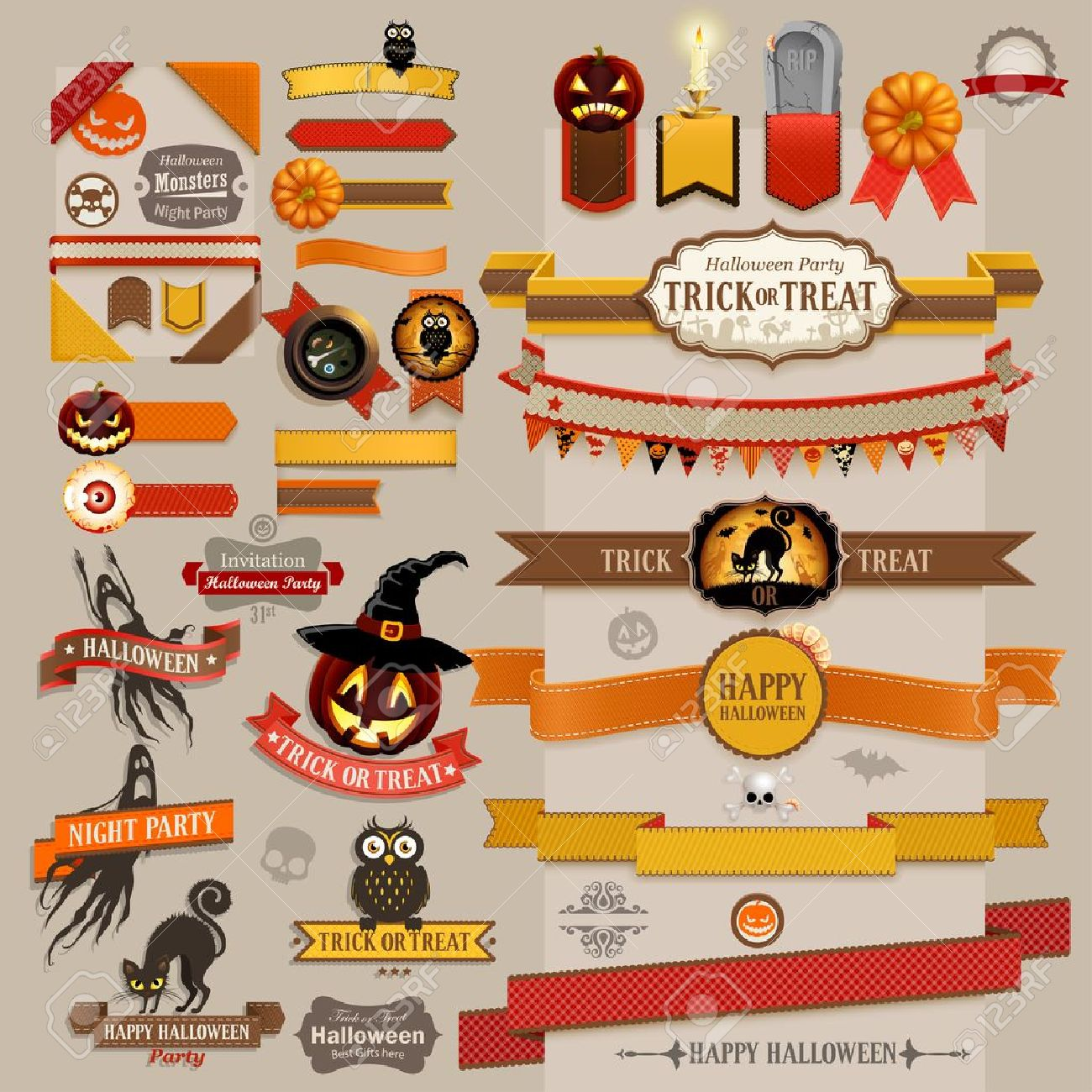 How to decorate scrapbook with ribbon