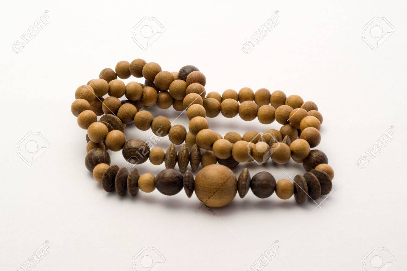 Juniper beads on a white backgrounds Stock Photo - 7408161