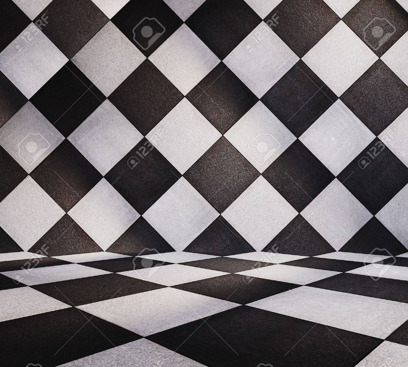 modern tiled room Stock Photo - 13073981