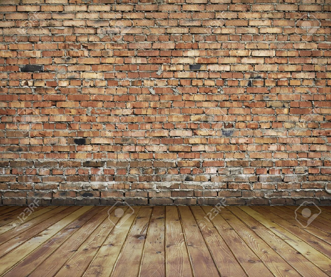 old interior with brick wall vintage background Stock Photo - 13785452 & Old Interior With Brick Wall Vintage Background Stock Photo ...