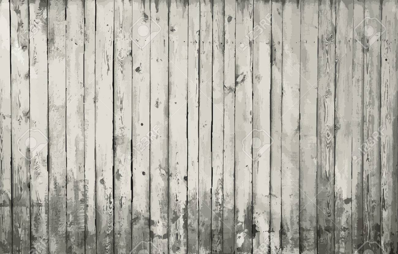 gray wooden background - 52059618