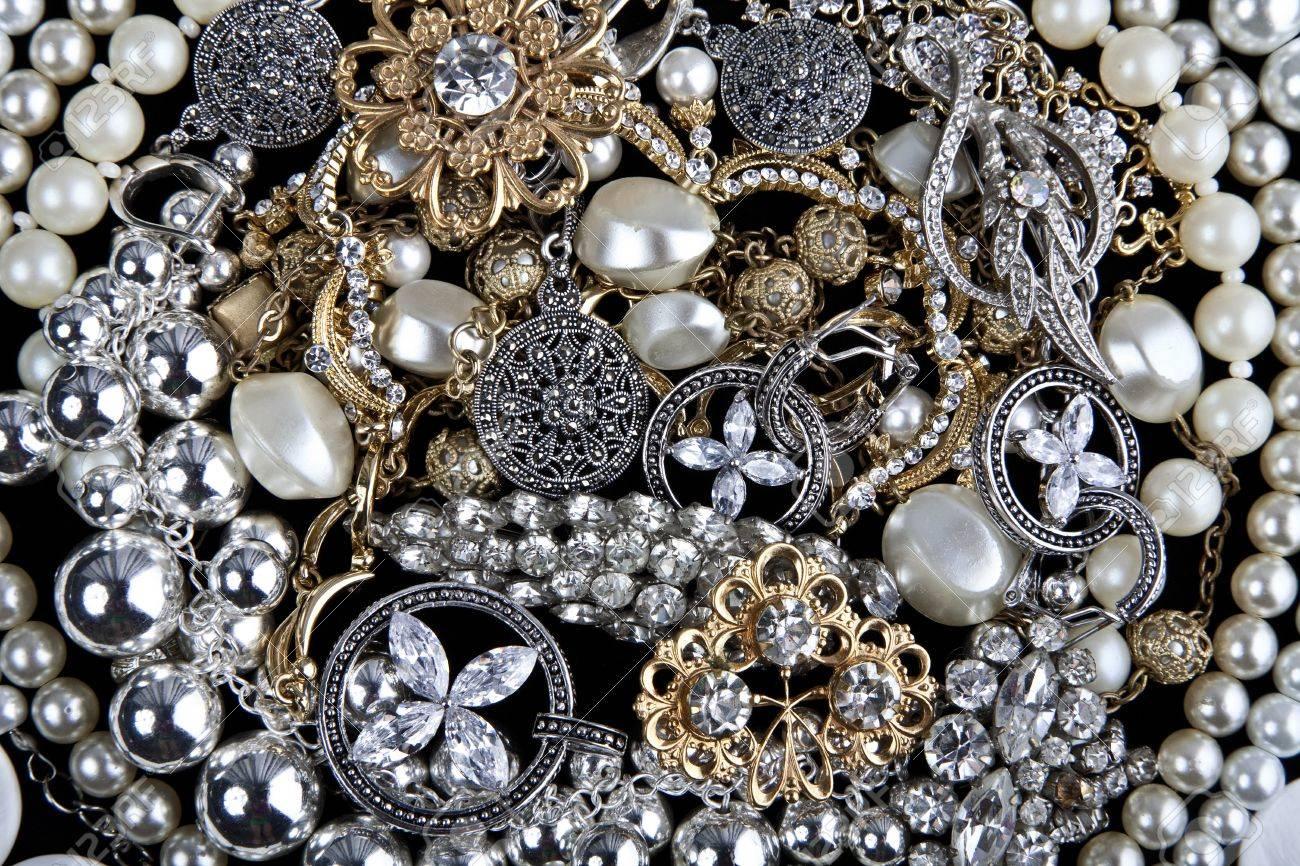 Jewelry. Background Stock Photo - 10776160
