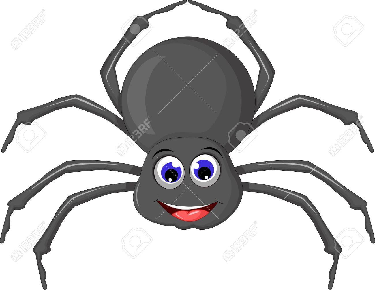 cute spider cartoon - 50740675
