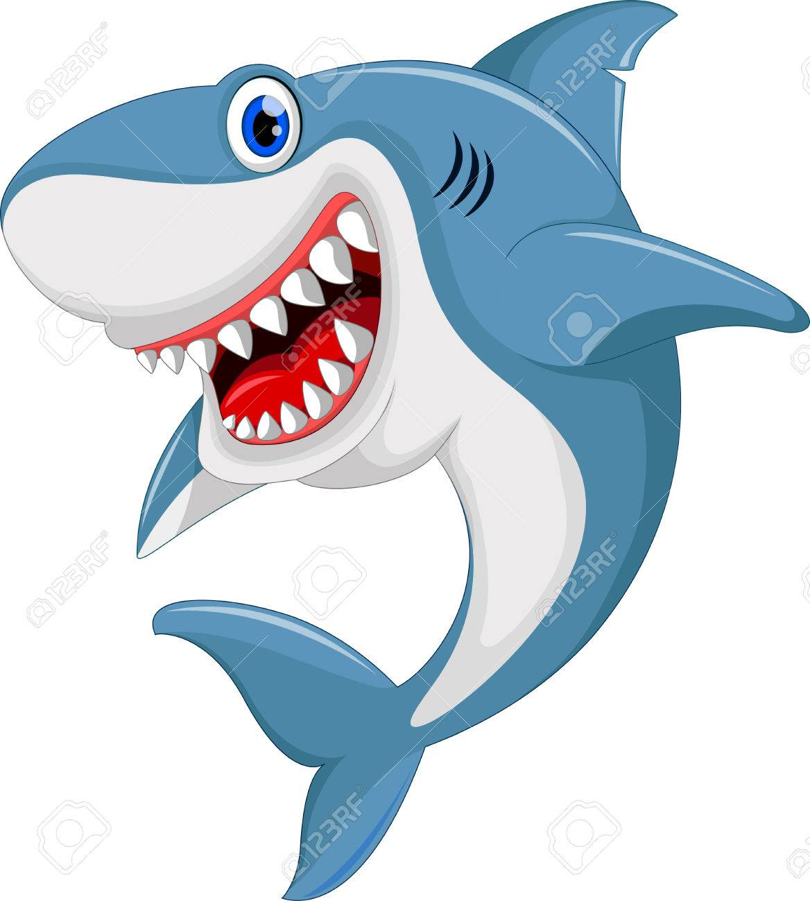 shark images cartoon  Angry Shark Cartoon Royalty Free Cliparts, Vectors, And Stock ...