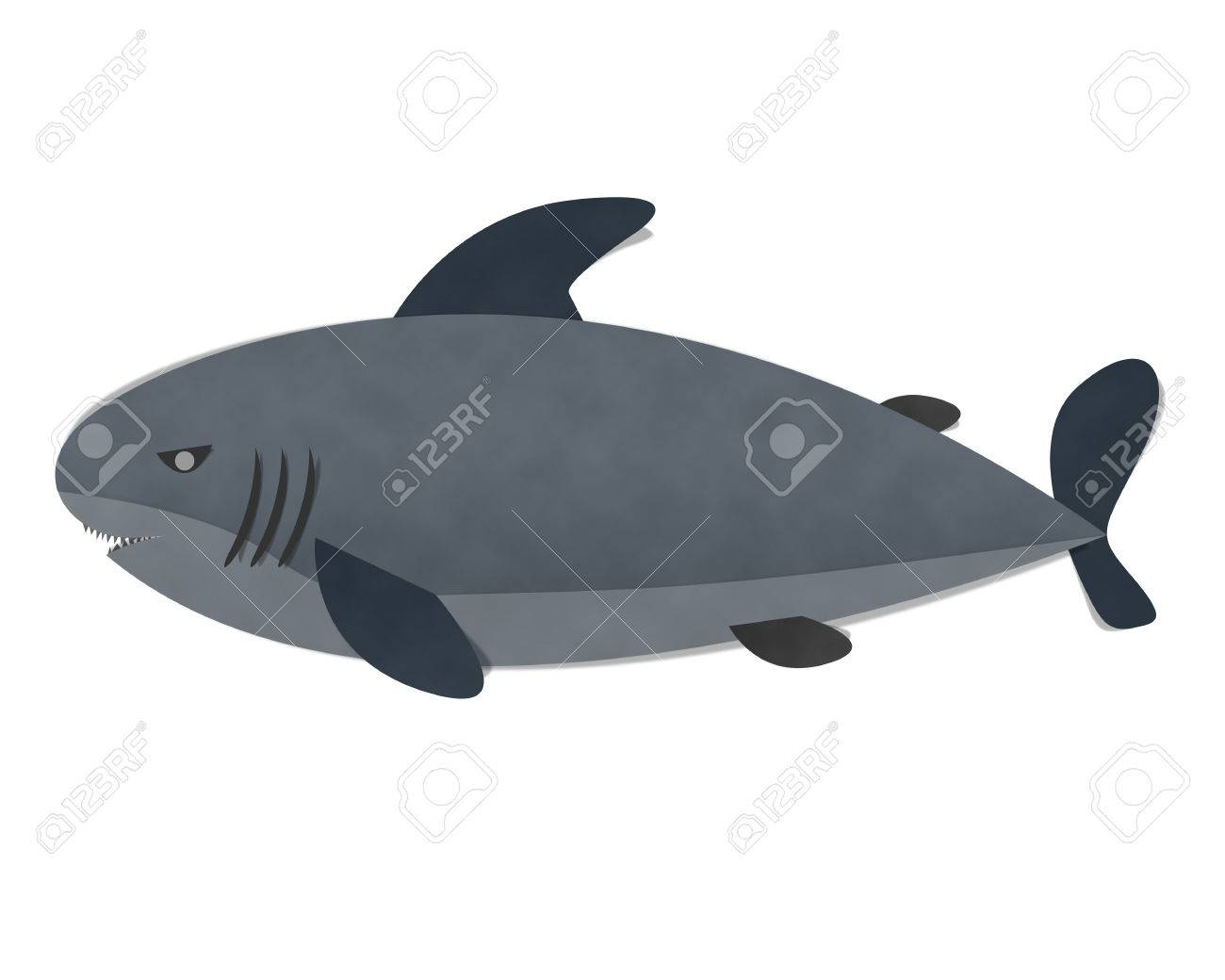 shark on white background paper cut and paste stock photo shark on white background paper cut and paste stock photo 40831278