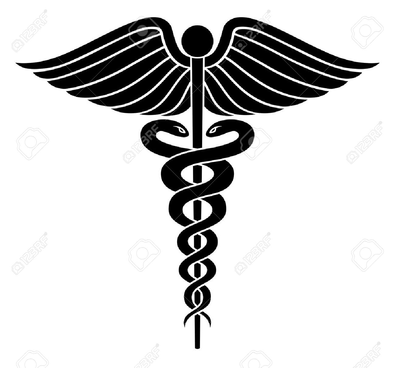 caduceus medical symbol ii is an illustration of a caduceus medical