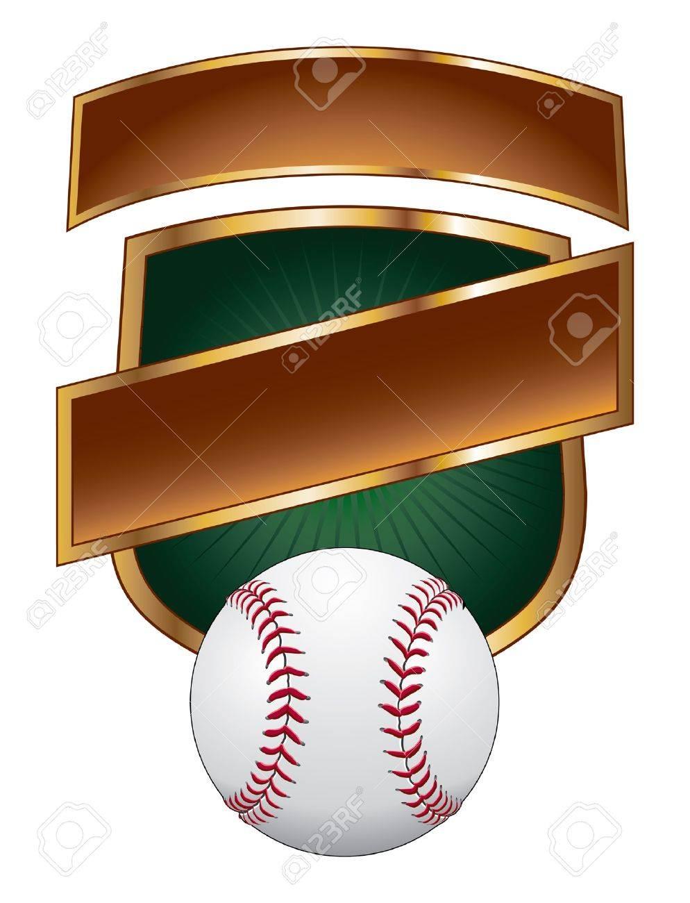 Baseball Design-Vorlagen Ist Eine Illustration Eines Baseball-Design ...