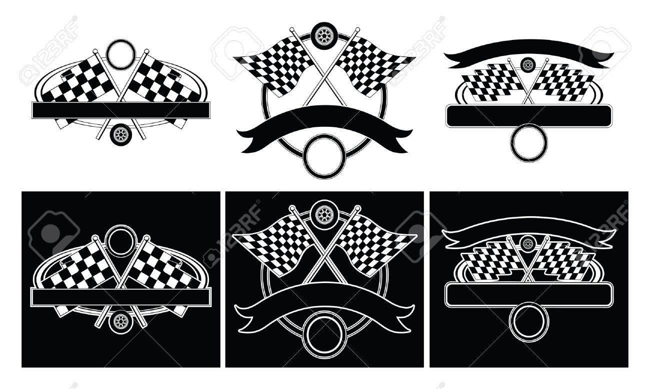 racing design templates is an illustration of designs for car