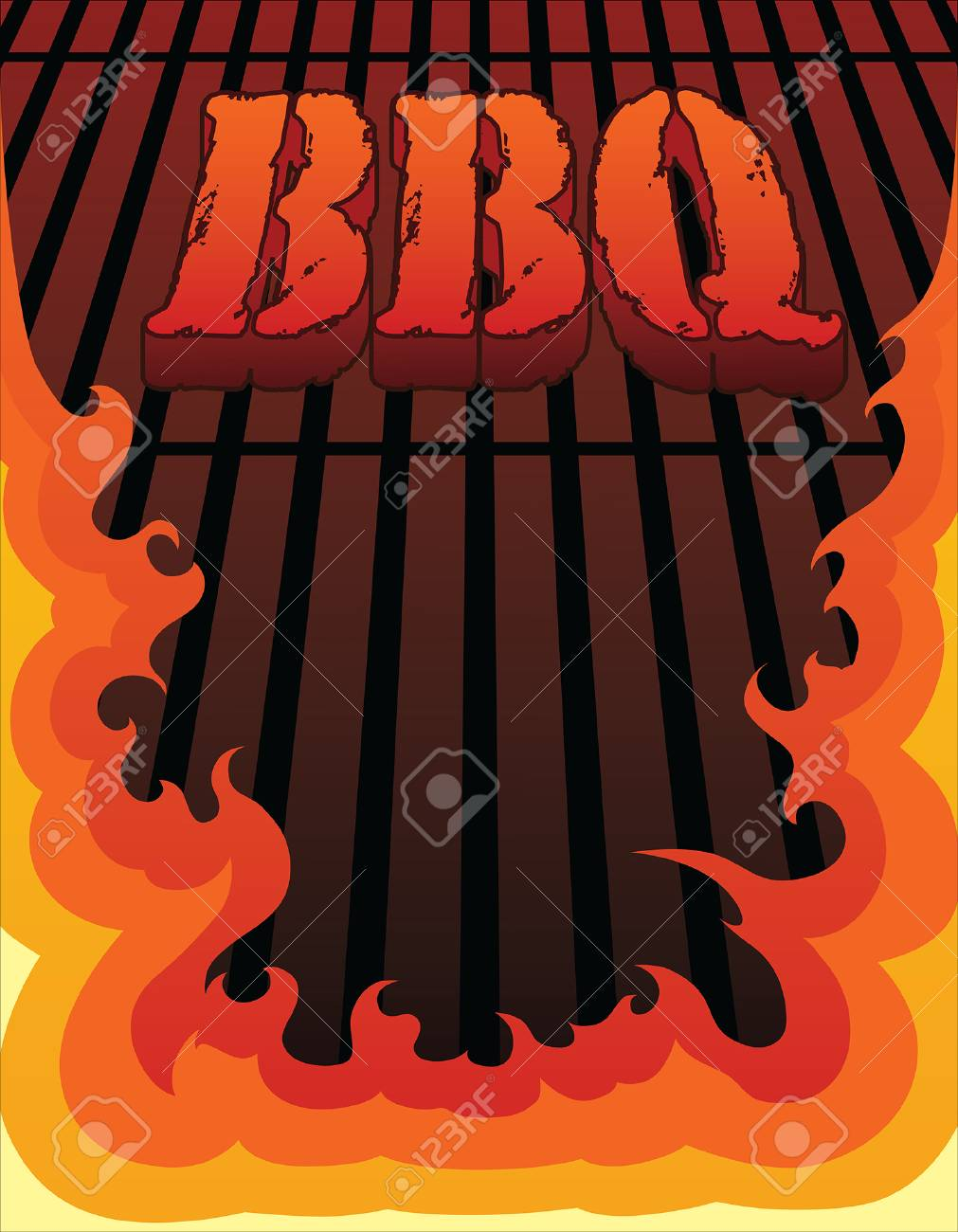 BBQ Design is an illustration of a barbeque or barbecue design..