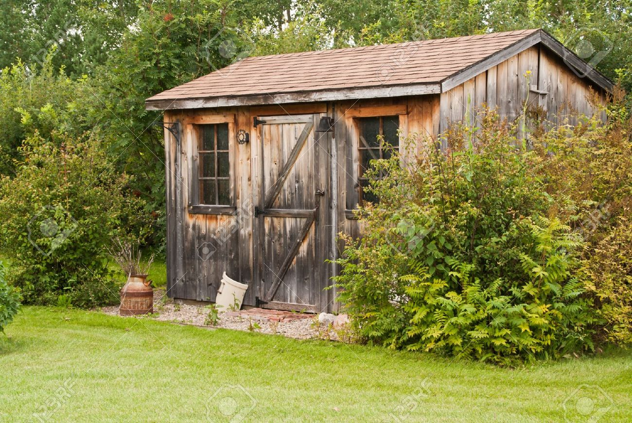 Old garden house - Old Garden Shed A Charming Rustic Garden Shed Made From Reclaimed Timber Barn