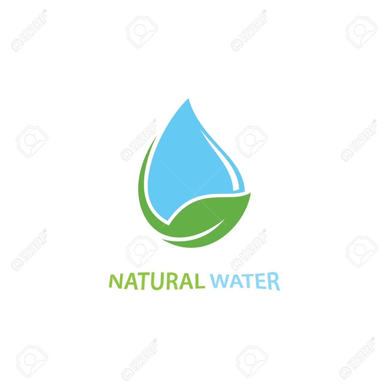 water drop Logo Template vector illustration - 154071995