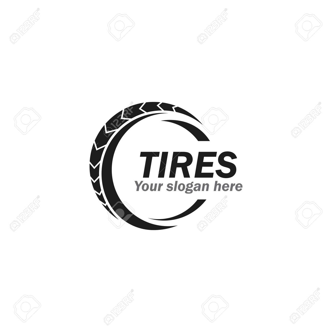 Tires illustration vector design - 157212427