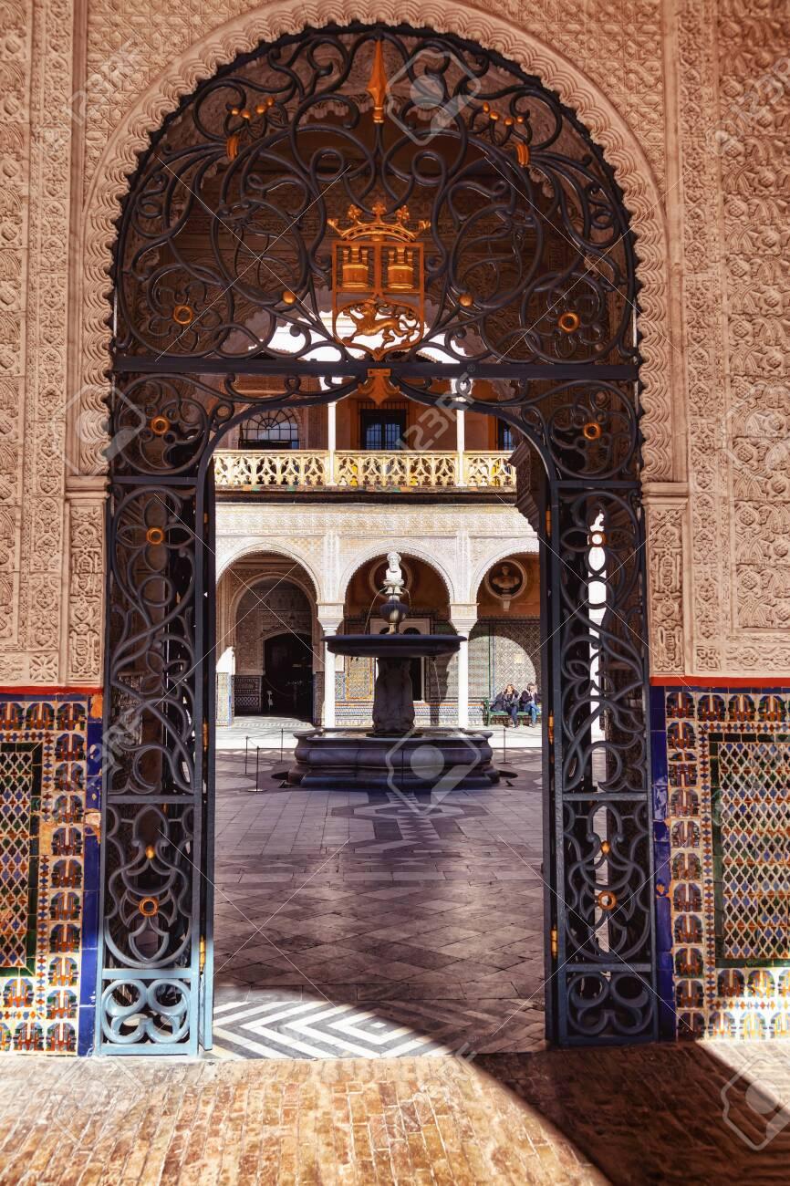 La casa del pilatos, Seville, Andalousie, Espagne / The casa del pilatos, Seville, Andalusia, Spain - 134748491