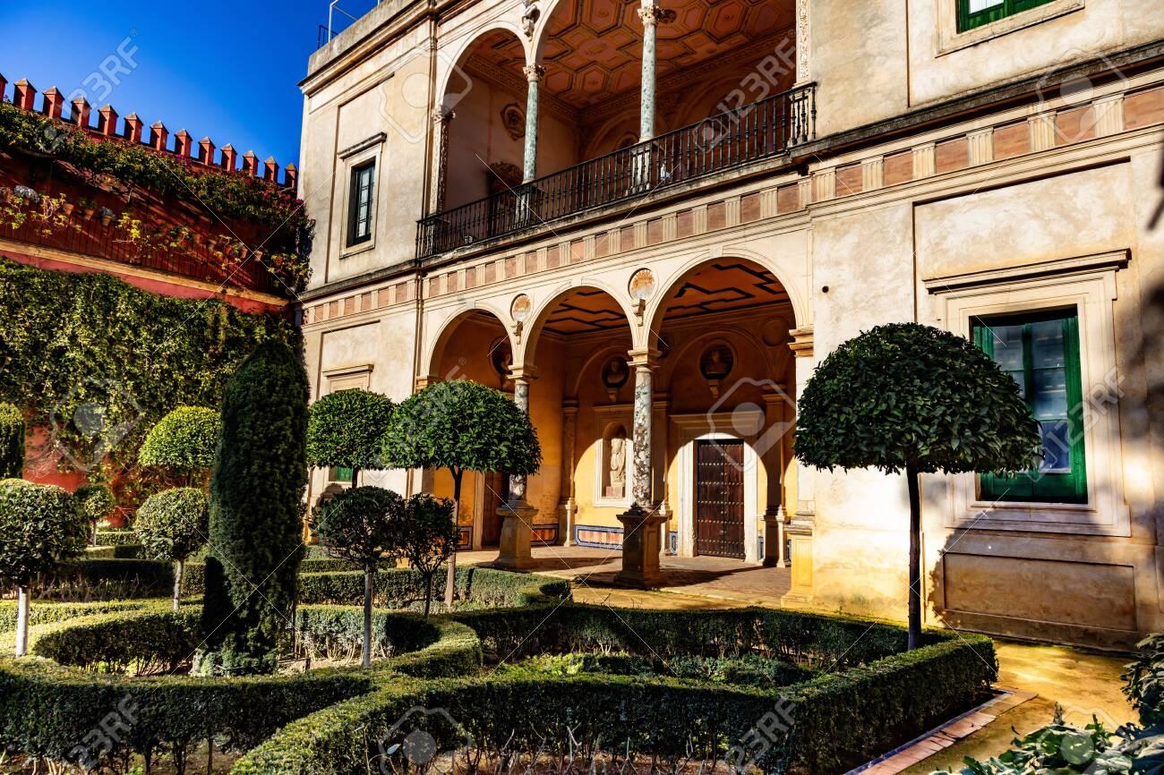 La casa del pilatos, Seville, Andalousie, Espagne / The casa del pilatos, Seville, Andalusia, Spain - 134748522