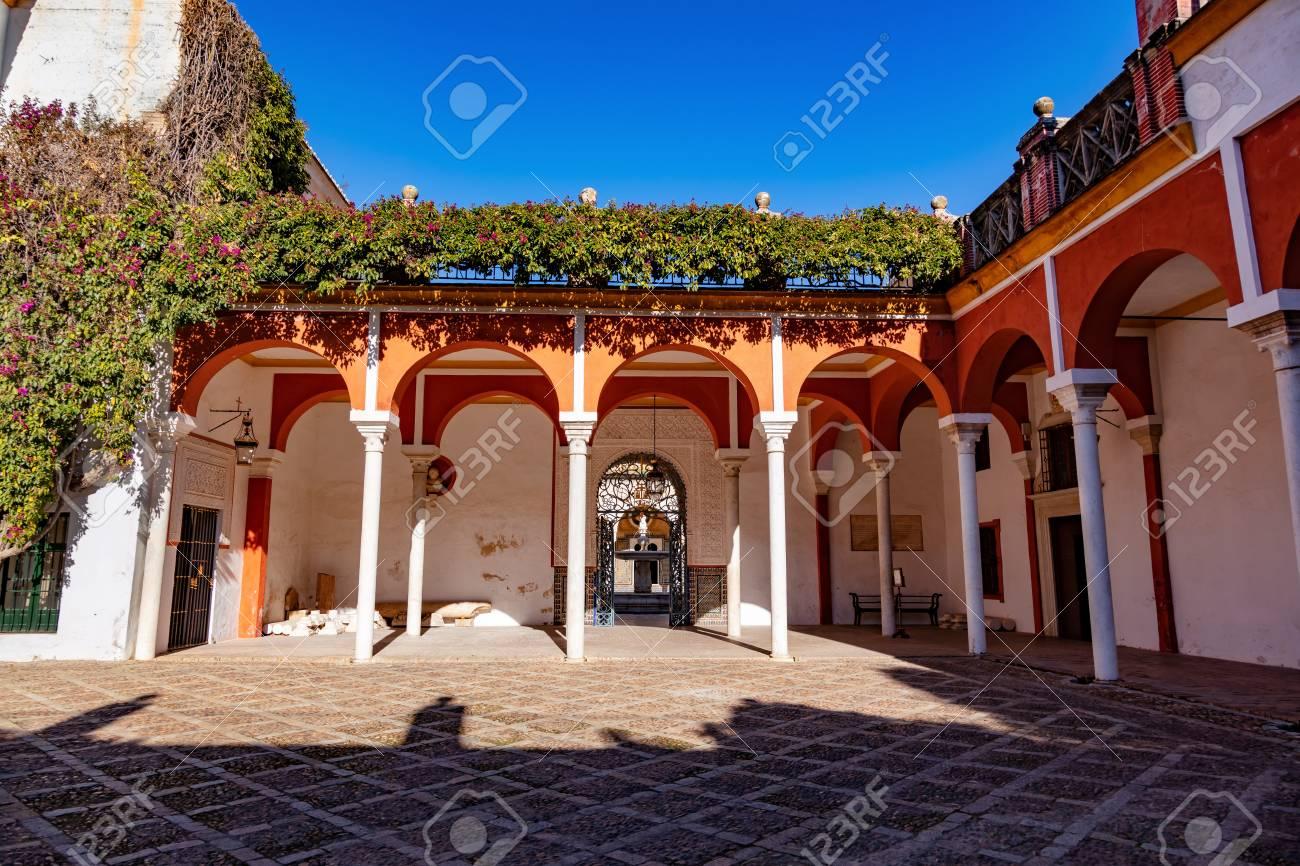 La casa del pilatos, Seville, Andalousie, Espagne / The casa del pilatos, Seville, Andalusia, Spain - 134759099