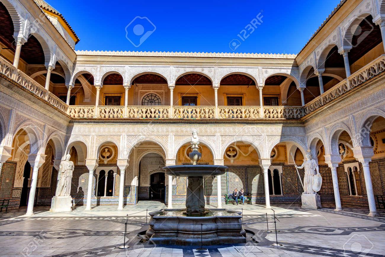 La casa del pilatos, Seville, Andalousie, Espagne / The casa del pilatos, Seville, Andalusia, Spain - 134759100