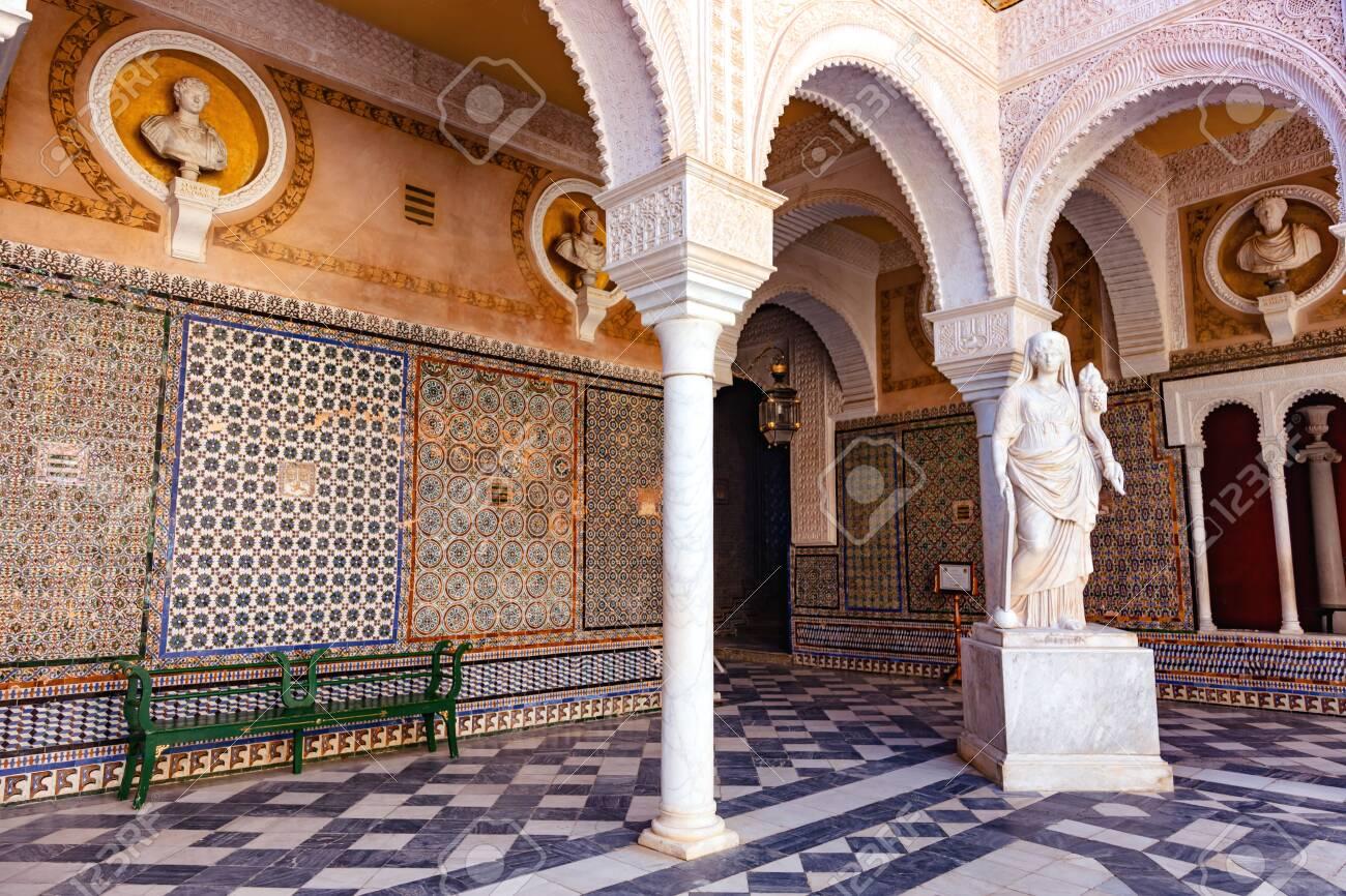 La casa del pilatos, Seville, Andalousie, Espagne / The casa del pilatos, Seville, Andalusia, Spain - 134759101