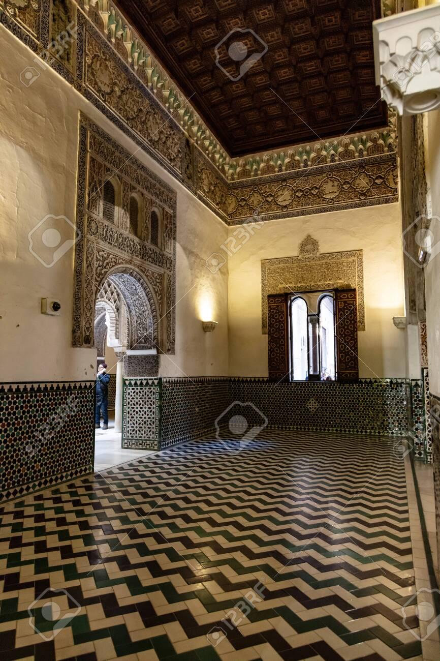 Real Alcázar de Seville, Andalousie, Espagne / Real Alcázar of Seville, Andalusia, Spain - 134759115