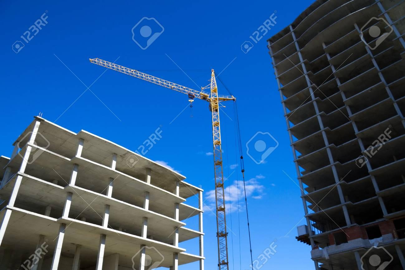 Construction site. Stock Photo - 4906390